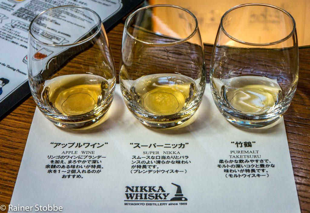Whiskyreisen Japan Nikka Miyagikyo - 20170423-P1100289