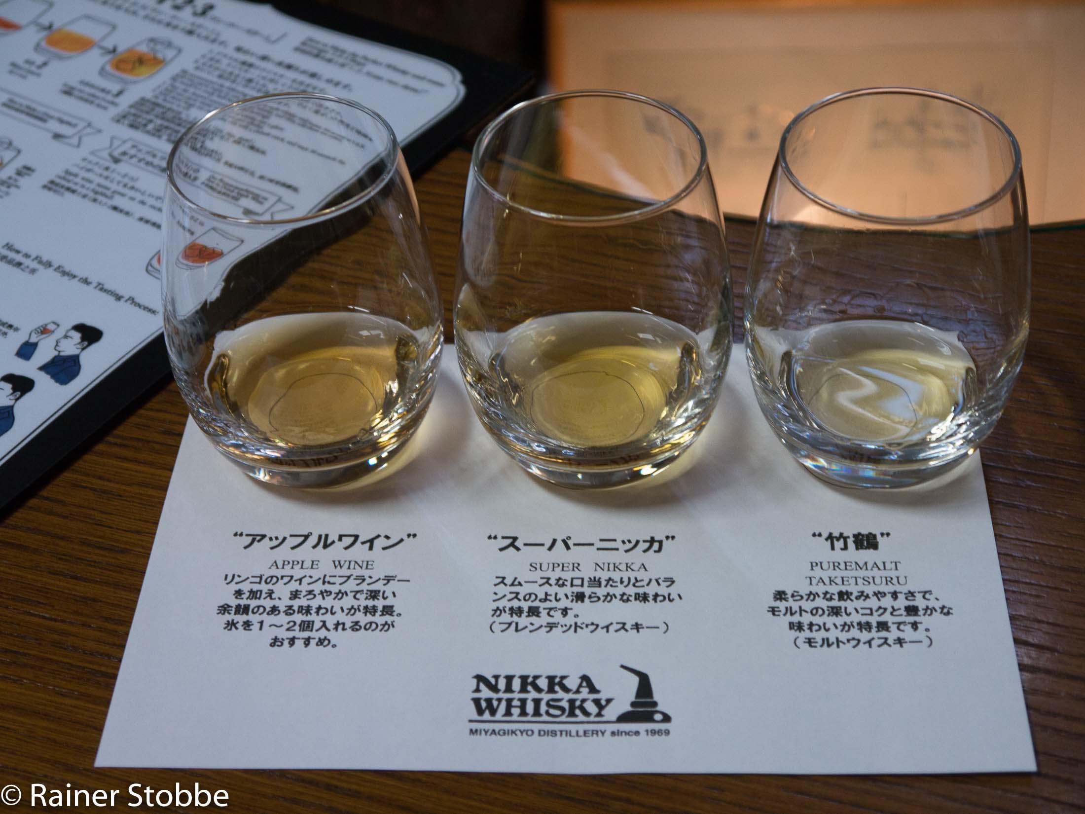 Whiskyreisen Japan Nikka Miyagikyo - 20170423-P1100290